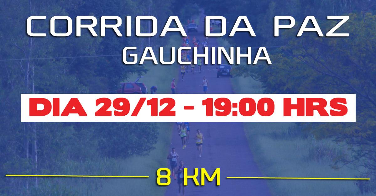 Resultado de imagem para CORRIDA DA PAZ DE GAUCHINHA - LOGOS